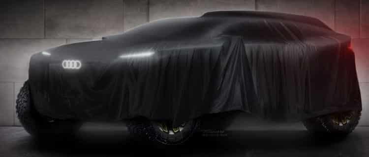 Clamoroso: Audi con l'elettrico alla Dakar 2020