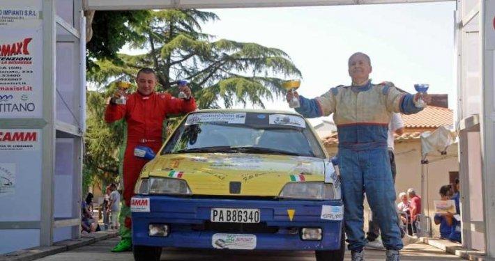 Augusto Favero e Nicola Perrone migliori rallisti lucchesi