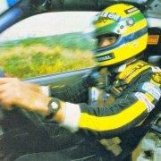 Ayrton Senna, una leggenda in F1 e un amico dei rally
