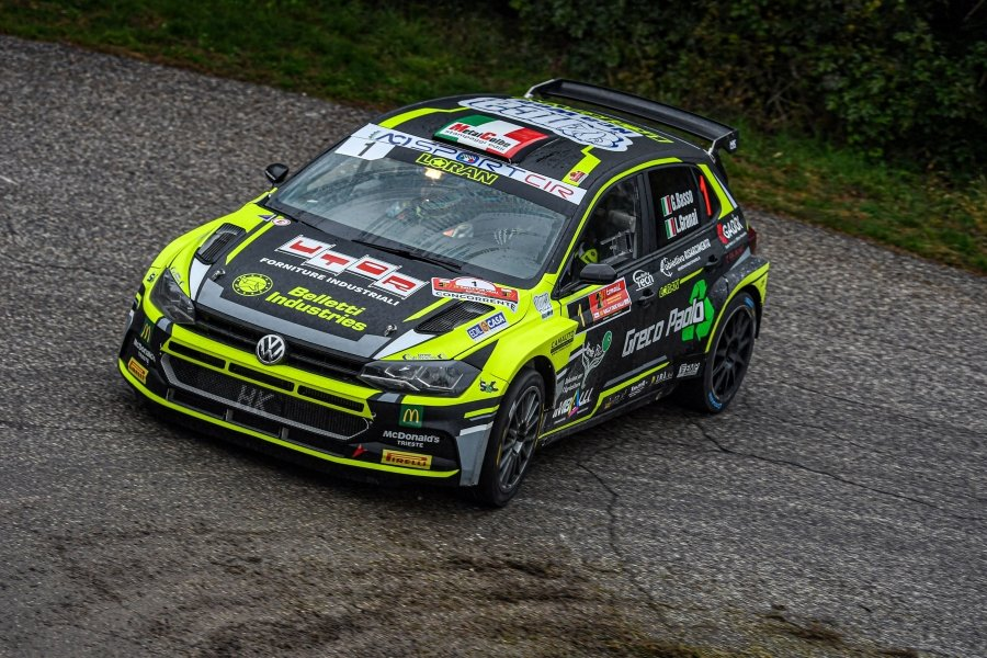 CIR 2020: Basso in testa al Rally Due Valli 2020