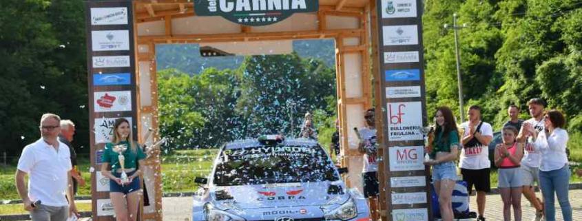 Bravi-Bertoldi, Rally Valli della Carnia 2021