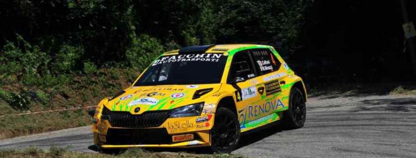 Caffoni-Minazzi, RallyLana 2021