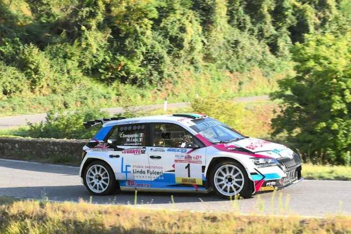 Carlo Alberto Senigagliesi, Rally del Reggello 2021