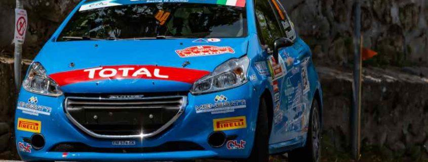 Secondo posto nel CIR 2WD per Alessandro Casella dopo il Rally di Roma