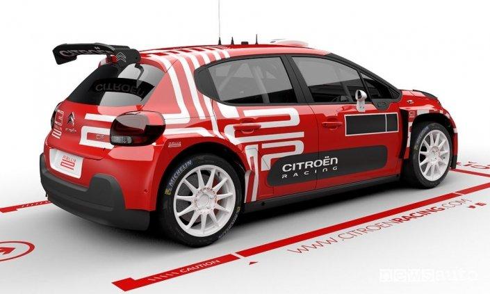 A bordo della Citroen C3 Rally2 elettrica (VIDEO)