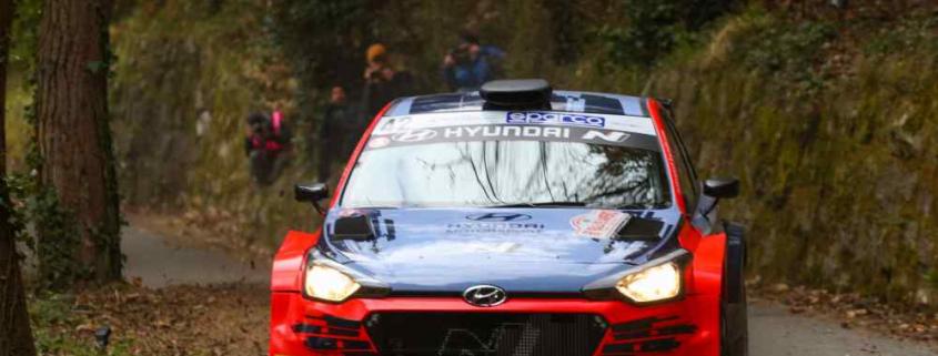 Craig Breen, rally di Sanremo 2021