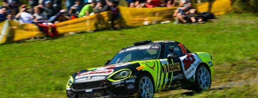 La Abarth 124 Rally di Berini nellERC