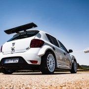Al Rally MonteCarlo la Dacia Sandero R4 di Dionisio
