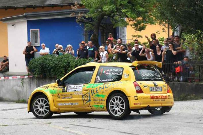Davide Caffoni, Rally 2 Laghi 2021