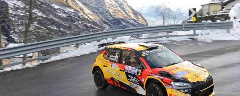 Rally Valli Ossolane: festa per Davide Caffoni e Mauro Grossi