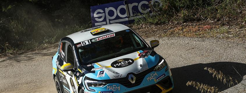 Davide Nicelli, Rally Targa Florio 2021
