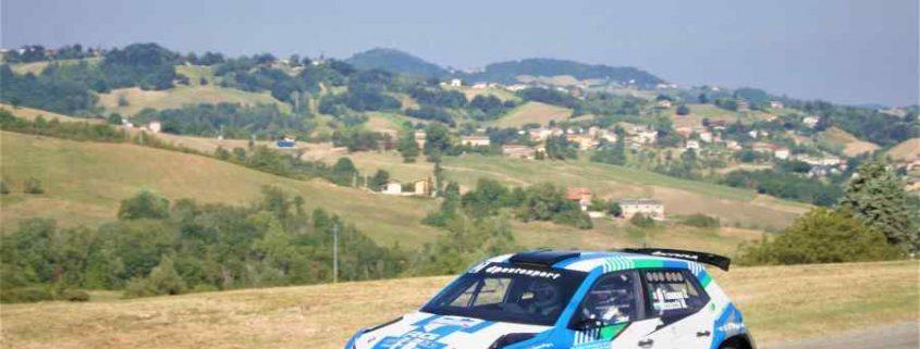 Coppa Rally di Zona, Rally Salsomaggiore Terme: De Tommaso vola