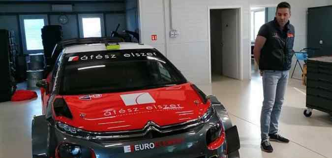 Citroen C3 WRC Plus ex-Sainteloc