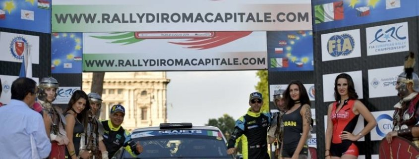 ERC Basso espugna il Rally Roma Capitale, classifica sub judice