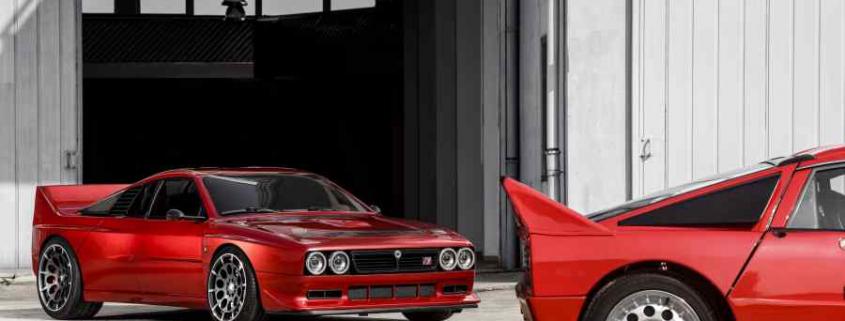 La Kimera EVO37 e la Lancia Rally 037