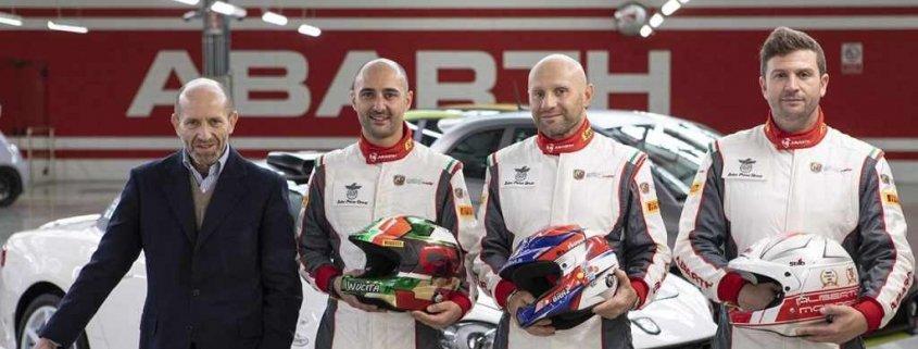 Enrico Brazzoli e Andrea Nucita sono i campioni di casa Abarth