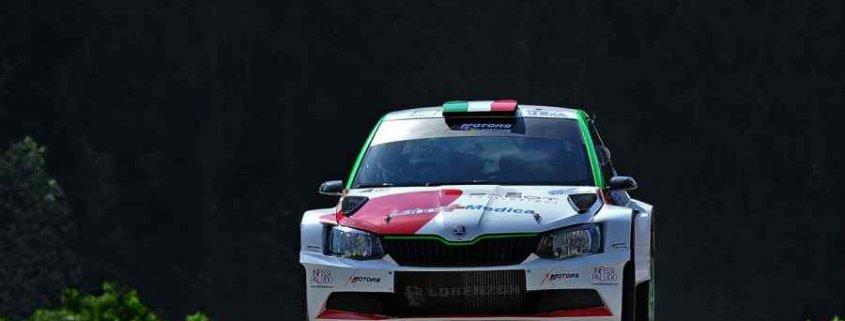 Al Rally delle Dolomiti 2020 passa lo straniero. vince Erik Cais