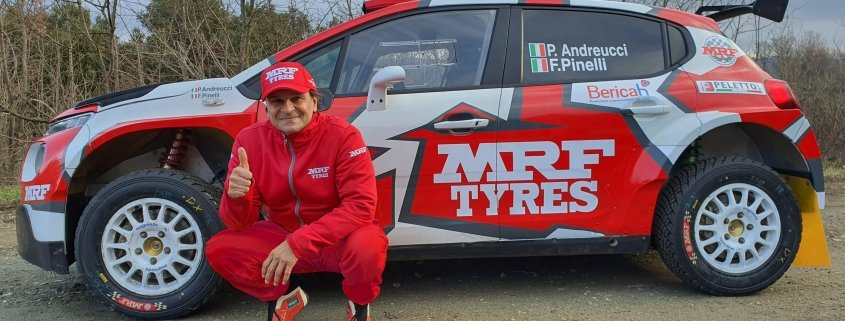 Paolo Andreucci MRF Tyres