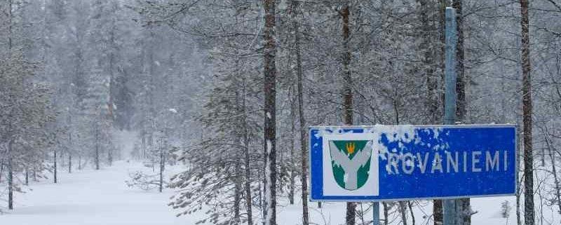 Le strade dell'Arctic Rally Finland