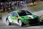 Fabian Kreim al Rally di Germania