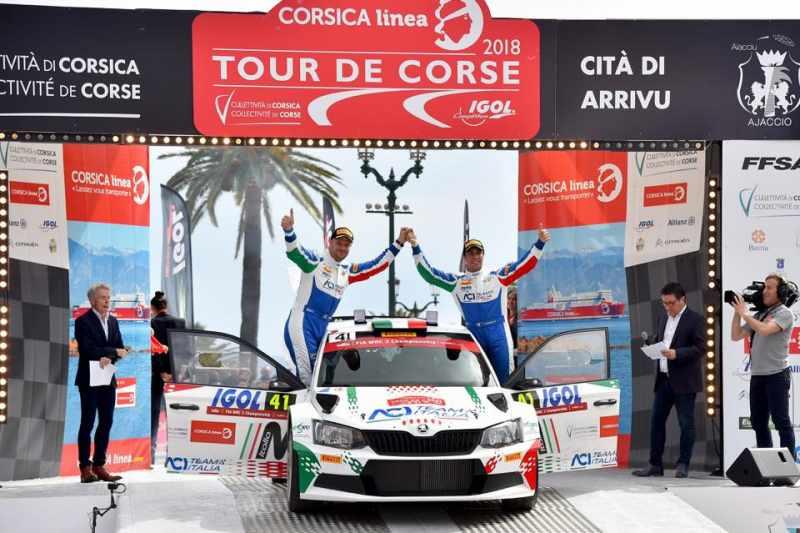 Fabio Andolfi spera di imbastire un programma WRC