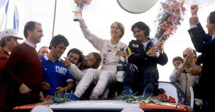 Fabrizia Pons, donna dei record mondiali