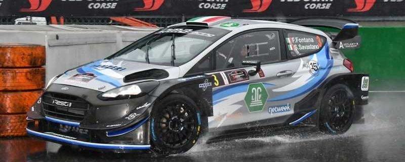 Fabrizio Fontana con la Ford Fiesta WRC Plus sarà ad Adria