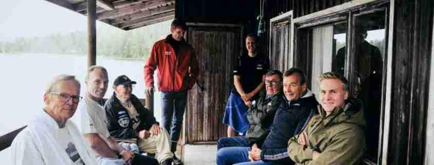 Foto di gruppo dei grandi finlandesi