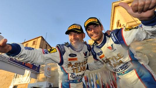 Giandomenico Basso e Mitia Dotta, Rally di Sanremo 2012