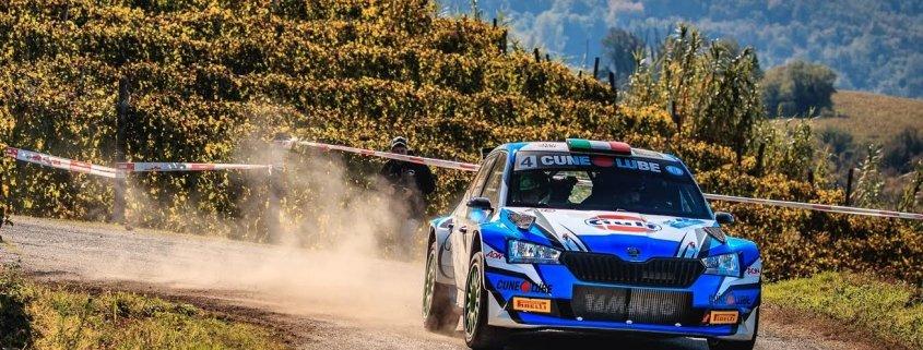 Al Rally delle Merende Franceschi sbaglia e vince Gino