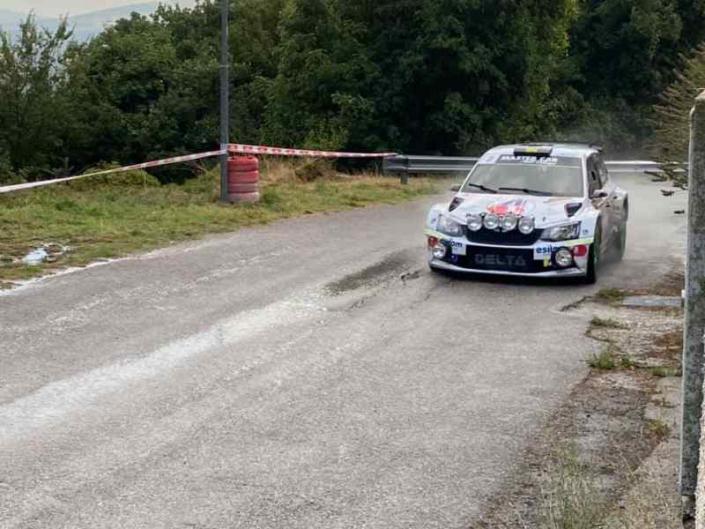 Giuseppe Testa, Rally del Molise 2021