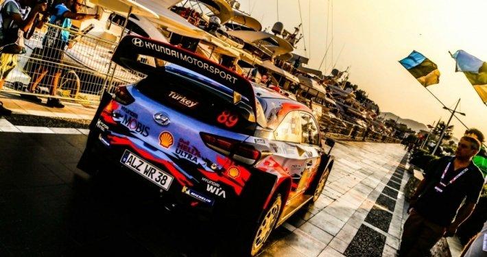 La Hyundai i20 WRC di Andreas Mikkelsen