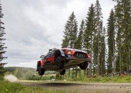 La Hyundai i20 WRc Plus al Rally di Finlandia 2019