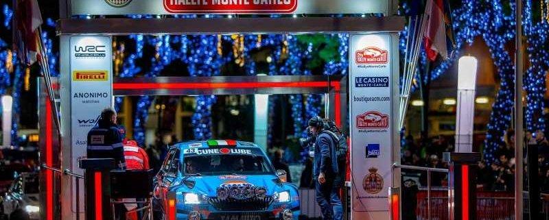 Alessandro Gino pronto per il Rally di MonteCarlo