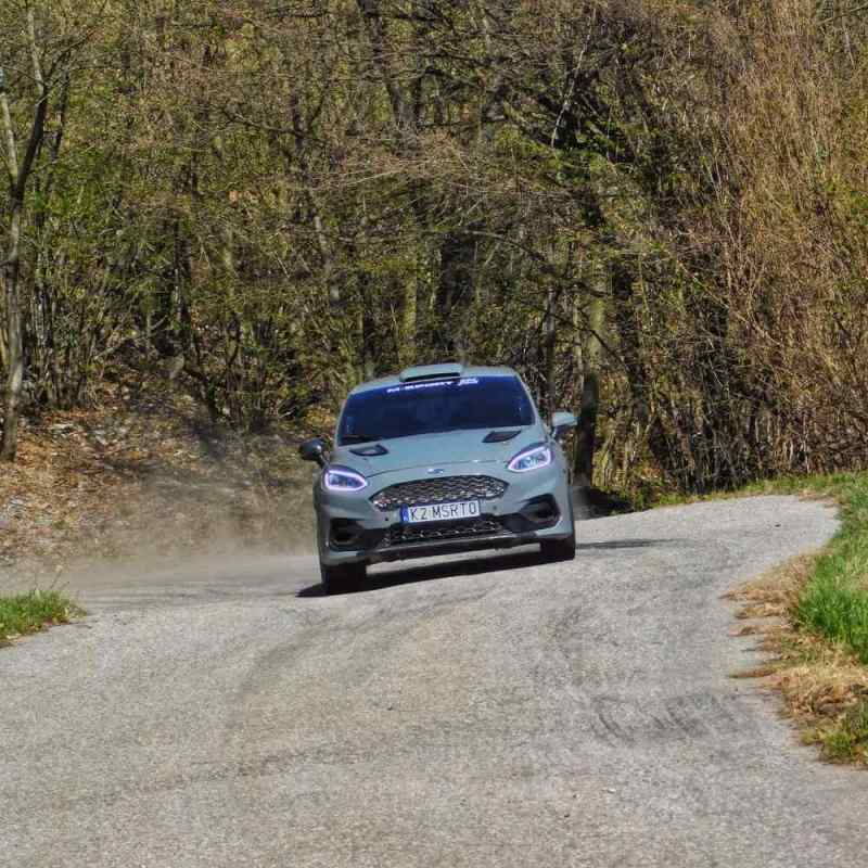 Ford Fiesta Rally3 in test