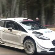 La Ford Fiesta WRC Plus in test