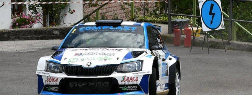 Il Rally Valli della Carnia è di Marco Signor e Patrick Bernardi