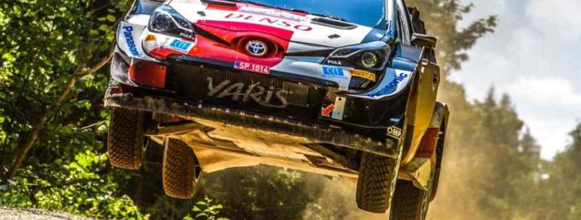 Kalle Rovanpera Rally di Estonia 2021