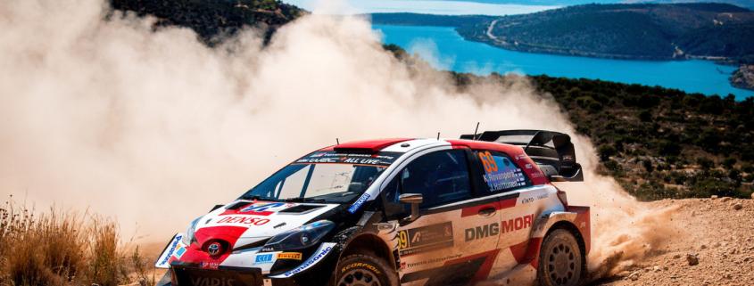 Kalle Rovanpera, Rally di Grecia 2021