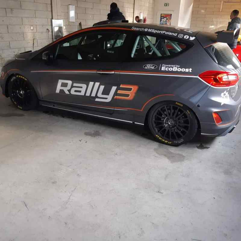La Ford Fiesta Rally3 di Tom Kristensson