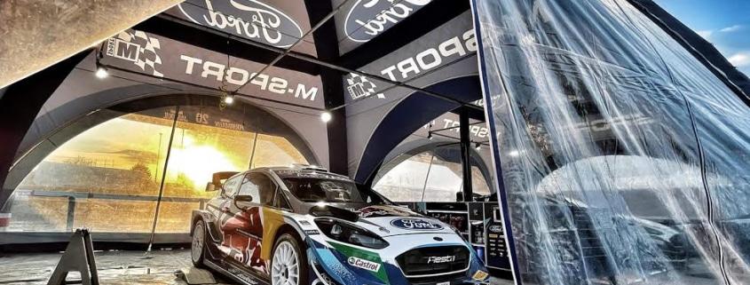 La Ford Fiesta WRC Plus M-Sport