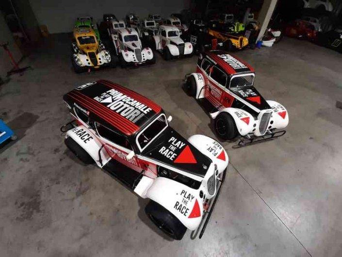 The Ice Challenge raddoppia lo spettacolo con Legend Cars