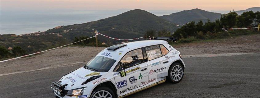 A Lorenzo Grani la Michelin Rally Cup al Rally Elba