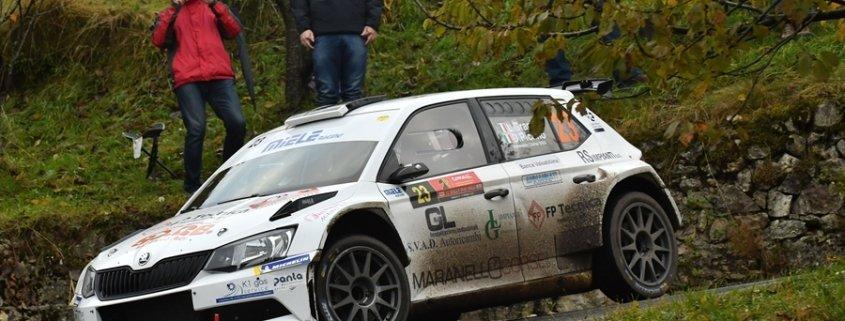 Lorenzo Grani si aggiudica la Coppa Michelin nel CIWRC