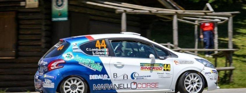Lorenzo Grani al Rally della Marca