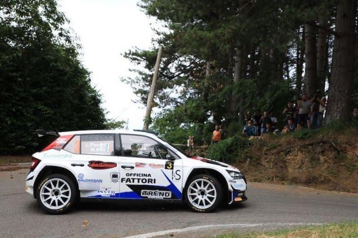 Luca Pierotti, Rally Coppa Città di Lucca 2021