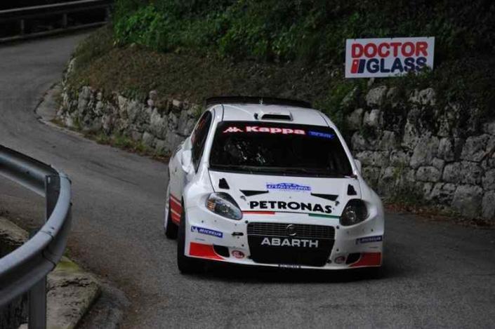 Luca Rossetti, Rally del Friuli 2011