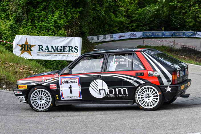 Lucky-Pons, Rally Campagnolo 2021