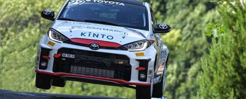 Marco Gianesini, Rally 1000 Miglia