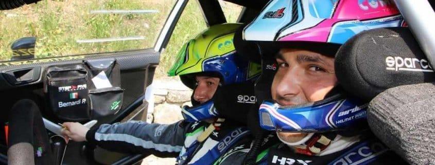 Marco Signor in finale Coppa Rally di Zona
